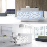 Bureau de réception moderne acrylique de la TW pour des meubles de bureau