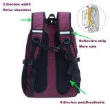 Мешки Diaper фиолетовый рюкзак водонепроницаемый нейлон мам пакет с логотип