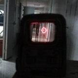 Micro vista holográfica para a caça