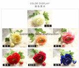 Rose blu Rosa artificiale della seta artificiale di tocco reale dei fiori artificiali per le decorazioni Rosa artificiale India