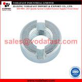 La norme DIN 546 Round de l'écrou crénelé en acier galvanisé