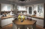 De nieuwe Amerikaanse Keukenkast van het Meubilair van de Keuken Stevige Houten