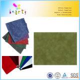 hojas coloridas del papel del terciopelo