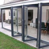 Deur van het Aluminium van het Glas van Prima de Bouw Aangemaakte Openlucht Vouwende