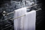 Accessori fissati al muro della stanza da bagno della barra di tovagliolo del doppio dell'acciaio inossidabile di Inox