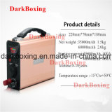 Côté de pouvoir de lampe de Tableau de batterie Emergency de DVD avec la grande capacité 35000/60000mAh de RoHS