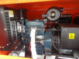 9m Handbuch-Mast Perkins/Kubota Dieselgenerator-Emergency Aufbau-beweglicher Beleuchtung-Aufsatz