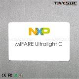 Tansoc NXP RFID MIFARE Ultralight C Belüftung-Karte ISO-Drucken-kontaktlose Karte