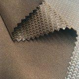De gebreide Stof van het Fluweel van de Polyester voor het Meubilair Uphostery van Kledingstukken