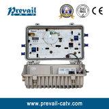 Bidirectionele Ontvanger van de Knoop van CATV AGC de Openlucht Optische