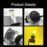 Bulbos impermeáveis do farol do diodo emissor de luz H7 do poder superior 12V 35W H4 H11 H1 9006