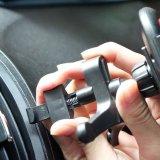 Charge rapide rapide de support sans fil de chargeur de support de véhicule de Qi pour le chargeur d'iPhone