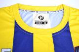 台湾のサッカーのジャージのフットボールのワイシャツの卸売のチームのための習慣によって昇華させるサッカーのユニフォーム