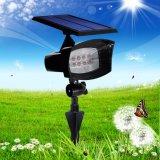 Indicatore luminoso solare del giardino dell'indicatore luminoso della parete del LED
