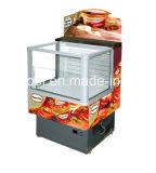 Réfrigérateur d'étalage de supermarché commercial/réfrigérateur ouverts d'étalage d'impulsion de congélateurs d'étalage étalage de qualité/rideau aérien