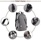 Custom Дизайнбизнес водонепроницаемыймешок для зарядки USB защиты от кражи ноутбука рюкзак производителя