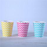 Одноразовые чашки чая бумаги/Custom тисненая бумага чашки кофе