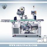Première surface et étiquette inférieure collant la machine à étiquettes de machine