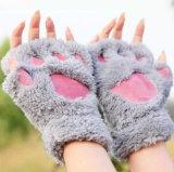 نمو شتاء قفّاز دافئ نصفيّة إصبع يسخّن قفّاز كشمير لأنّ نساء