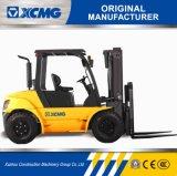 XCMGの安い価格の小型5トンの小型マストの側面シフトディーゼルフォークリフト