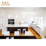 Custom casa moderna mobília de estilo rural do mobiliário Armários de cozinha de madeira