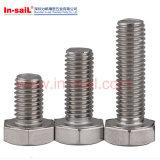 [دين933] فولاذ معياريّة ثقيل [هإكس] برغي مع [كمّوم] قعر