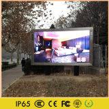 Tela de LED de cor total exterior para a parede de vídeo