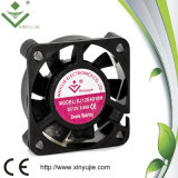 ventilador sem escova do refrigerador de ar do ventilador de refrigeração do radiador do ventilador da C.C. RPM Controler de 40mm mini