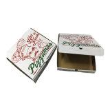 Contenitore ondulato su ordinazione poco costoso di pizza del commestibile della stampa