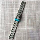 イオンFitbitのための固体ステンレス鋼の時計バンド