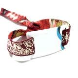 La norme ISO15693 ICODE Festival de musique SLIX bracelets RFID tissés personnalisés