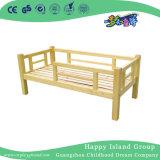 Экологически безопасные детские школы деревянные двухъярусные кровати с лестницей для детских садов (HG-6508)