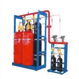 Sistema de supresión de fuego de la presión externa FM200 de la fuente de China