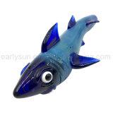 Dunkelblaues ozeanisches Haifisch-Entwurfs-Handrohr (ES-HP-131)