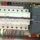 Prensa de filtro automática del marco de la placa de Gasketed PP de 1 contador