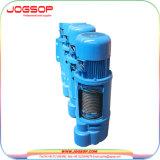 Le meilleur élévateur électrique de la bride CD1 de câble métallique des prix 1t 2 T 3t 5t 10t avec le chariot électrique