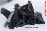 Custom bord en forme de U extrudé EPDM joint en caoutchouc de protection