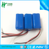 熱くする手袋800mAh 7.4V 14500 16340の李イオン電池のパック