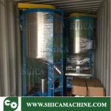 silo de mezcla plástico de alta velocidad 6000L con el secador para el color Masterbatch