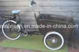 A mediados Bafang Bakfietsen eléctrico del motor/carga E Bicicleta triciclo de carga/familia/3 rueda de bicicleta de Carga/Carga Bakfietsen/Pedelec para los niños llevan/Entrega 7sp Nexus