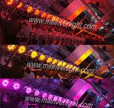 La IGUALDAD de IP65 RGBW 6*12W LED puede encenderse