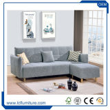 Prezzo poco costoso moderno della base di sofà del cuoio del blocco per grafici di legno solido
