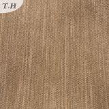 Normales Art-Polyester-Leinenblick-Gewebe 100% für Sofa