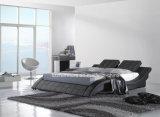 Австралия современные спальни, кожаные кровати формы кривой