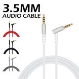 M05 3.5mm Audio (witte) Kabel van Aux van de Auto van het Apparaat van de Interface de Algemene