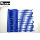 Hairise Har7940 Maille en plastique bleu avec les trous de la courroie du convoyeur