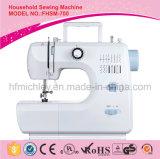 Máquina de coser portable eléctrica de la fábrica de China mini para el hogar (FHSM-700)