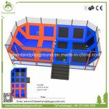 Professional Cheap grandes camas elásticas, utilizado en el interior del parque trampolín para la venta