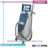 Máquina Multifunctional da beleza da remoção do cabelo do laser do RF YAG da E-Luz do IPL