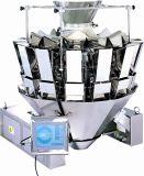 Materiale di riempimento verticale del modulo e macchina imballatrice della caramella di sigillamento con il pesatore delle Multi-Teste (DXD-520C)